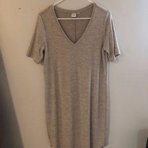 Gap Jersey V-Neck Dress: Medium Tall